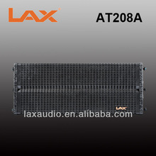 LAX AT208A-V2 Dual 8inch active powered line array speaker / with neodymium woofer driver