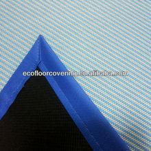 woven vinyl car floor mat