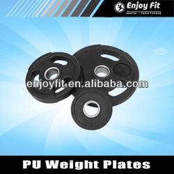 Polyurethane Urethane PU Dumbbells Barbells Weight Plates 10kgs