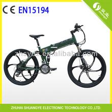 nice aluminum folding electric mountain bikes 50KM