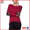 3/4 length sleeves guangzhou clothing woman clothing