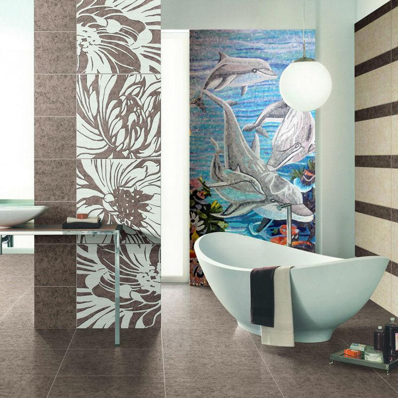 ванная комната настенная / источник