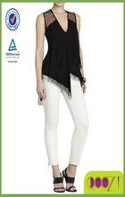 Brooke Sleeveless Draped Top thailand clothing manufacturers