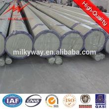 110kv&220kv tapered or octongal steel hot dip galvanization electric pole design power distribution
