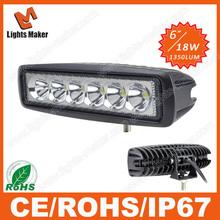 LML-1918 18W spot bar 12v 24v 4WD LED work light fog driving light 4x4 off road