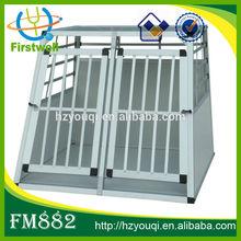Aluminum pet cage with 2 doors wholesales
