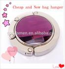 folding bag purse hook handbag hanger holder/custom logo purse hanger hook