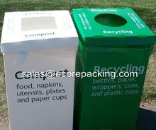 Corrugated plastic bin/Recycle bin/Recycling bin/Waste bin