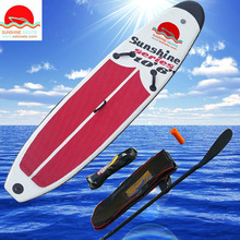 12' long 30'' Width 4'' thickness Best quality lower price stand up paddle board inflatable