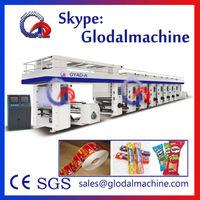 8 Colors Rotogravure Printing Machine Price gravure printing machine Press