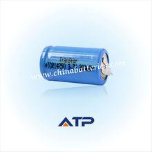wholesale alibaba Shaving dynamo flashlight battery / 300mah 14250 half aa lithium batteries