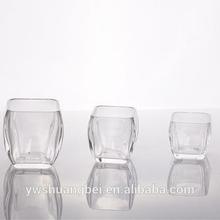 Crystal Glass Vase Square Glass Tank Aquaculture Fish Tank Coffee Table Fish Tanks