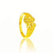 oro 24 carati ampio anello oro anelli di fidanzamento anello in oro
