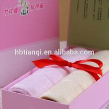 2012 Wholesale Bamboo Towel Gifts Packing/ wedding gift / custom logo
