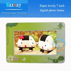 Buy Christmas gift 7 inch digital photo frames mini