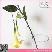Natural toque artificial orquídea tigre atacado para decoração