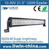 "NO MOQ !!! Liwin 13.5"" 120w 9600lm led light bar 12v 30000h long life off road light 4x4"