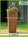 Fhp-101618 yüksek kalitede dekoratif saksı 2014 renkli planstic saksı yeni teknoloji