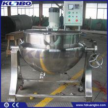 Tilting electric heating jacketed kettle / boiler