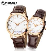 100% Genuine leather Japan movt quartz wrist watch
