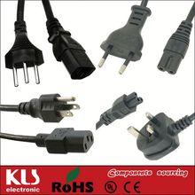 c7 european power cord UL CE ROHS 163