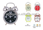 2014 New Style 4 Inch Twin Bell Metal Alarm Clock