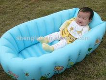 Baby inflatable air bathtub