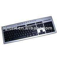 wired office used multimedia keyboard