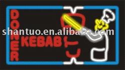 Kebab neon sign