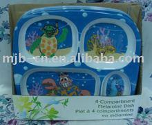 children tableware made in china/melamine children tableware
