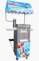 Bq333m com dossel máquinas de gelados