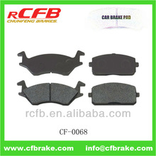 CAR BRAKE PAD FOR TOYOTA STARLET, TERCEL