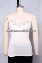 2 CHUNLEIZZ women lace racerback basketball sexy women white tight stringer wholesale plain white tank top