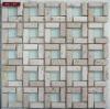 glass mosaic mix marble mosaic tile
