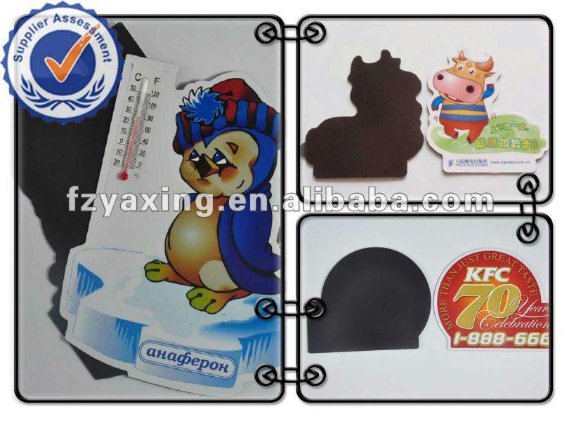 paper Fridge Magnet PVC fridge stickers pvc fridge magnet