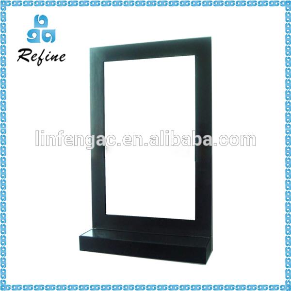 Tamanho De Espelho Banheiro : Tamanho grande de madeira espelho do banheiro quadro com