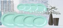 Melamine oval dinner plate