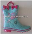 giovani ragazze carine fantasia stivali di gomma stivali