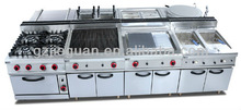 Gas Combination restaurant cooking equipment/kitchen/catering equipment