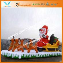 2012 BY holiday inflatable xmas santa