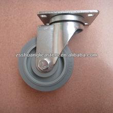 Zhongshan swivel rubber caster wheel