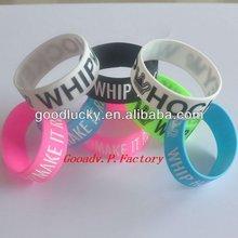 promo and souvenir Silicon wrist band