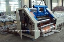 corrugated fingerless type single facer machine