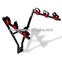 """New 3 Bicycle Bike Rack Hitch Mount Ball Carrier Car Truck Suv Swing 2"""""""