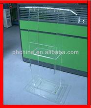 SL-44 Custom Acrylic Lectern/Podium,Perspex Pulpit/Lectern,Lucite Speak Stand/Podium
