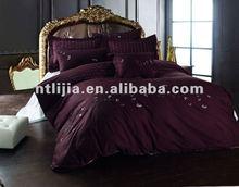 polycotton 8pcs purple comforter