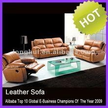 2015 New modern elegant leather lounge suites