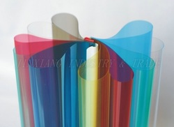 clear pvc binding cover
