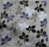 100% cotton leaf printed cushion cover wholesale