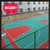 pp plastic sports basketball court flooring